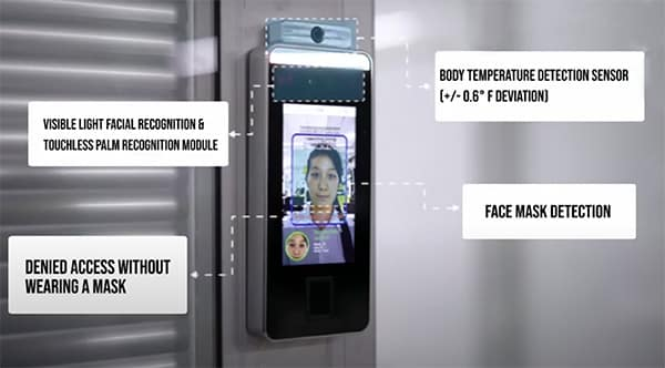 Body Temperature Scanning